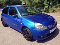 L@@K 2003 *53* Renault Sport Clio 172 Cup **MOT NOVEMBER**Cambelt & Dephaser Recently**