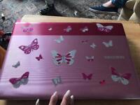 Pink laptop Samsung