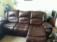 3 seater sofa double recliner
