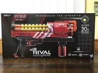 Brand new in Box Nerf Rival Nemesis MXVII-10K Fully motorised kids toy gun blaster Red Team