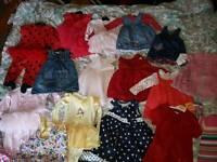 Massive baby girl bundle 9-12 and 12-18