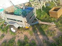 lawntractor  or wheeler trailer