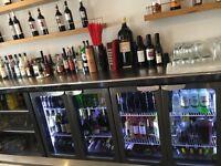 Bespoke s/s triple bar fridge