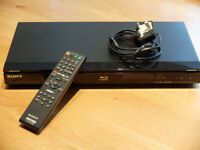 Sony BDP-S360 Blu-ray Player BD Live DTS-HD Dolby True HD