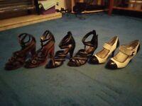 BARGAIN - Size 5 Women's Shoes - 3 Pairs Bundle