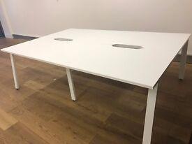 Office desk pretty much BRAND NEW!! 1 x 4 person