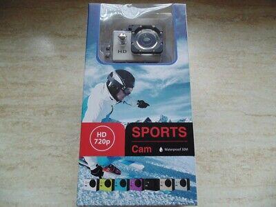 M1 Camcorder (Sports - Cam - HD 720p - Waterproof 30M -1,5-inch Screen - Neu - OVP)