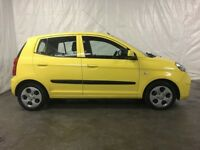 2009 Kia Picanto 1.1 Strike 5dr *** Full Years MOT ***