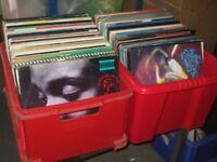 "200+ 12"" Rock / Pop / Indie / New Wave Vinyl Records Collection 1970s - 90s"