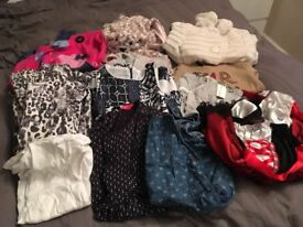 Lovely girls clothes bundle age 3 - 4, 4-5 and 5-6 some new with tags