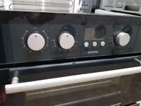 Hotpoint double under oven