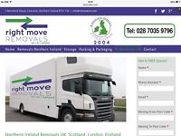 Right Move Removals Northern Ireland, Uk Ireland Storage & Packaging Boxes England Scotland Ireland