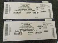 Little Mix Tickets, Newcastle, Saturday 4th November