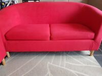 2 Seater + 2 single seater red sofa set! Great condition!