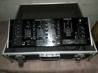 American Audio Mixer in flight case