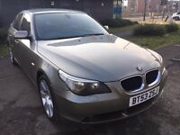 BMW 525 PETROL AUTOMATIC 2003 LEATHER SEATS TV DVD DRIVE NICE FACE LIFT