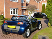 Limited Edition Low Mileage Star Blue Smart Roadster Turbo Charged Sports Car by Mercedes-Benz