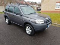 2002 Land Rover Freelander 2.0 TD4 GS 5dr Manual @07445775115