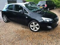 2012 vauxhall astra sri 2.0 diesel black 85000 miles fsh light side damage salvage cat N