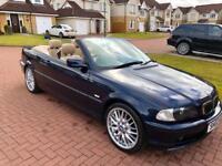 BMW 318 Ci Convertible 2002, 93,000 Miles