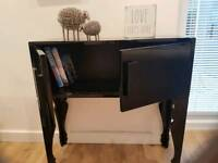 Black high gloss unit sideboard