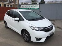 Honda Jazz 1.3 i-VTEC EX CVT 5dr (start/stop)£10,950 p/x welcome 1YEAR FREE WARRANTY.NEARLY NEW