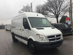 2008 Dodge Sprinter Van 3500 High Roof, Dually, + Shelving