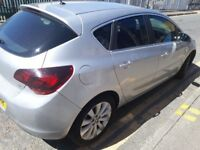 Vauxhall Astra 1.3 diesel manual MOT and tax drives smoothly £20 road tax per year