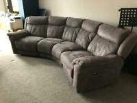 Famiy Curved suite + love seat + stool
