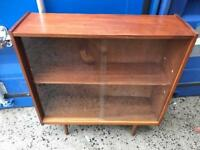Vintage book case FREE DELIVERY PLYMOUTH AREA