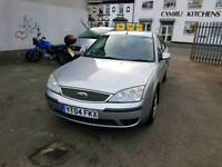 04 PLATE FORD MONDEO. 2 LITRE TDCI TURBO DIESEL. DRIVES WELL. PX WELCOME