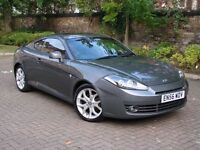 EXCELLENT SPORTS CAR!! 2007 HYUNDAI COUPE 2.0 SIII SE 3dr, GREY WITH RED LEATHER, 1 YEAR MOT, FSH