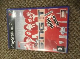 Ps2 game sing it high school musical