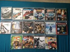 PS3 Game Bundle (12 games)