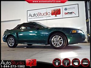 2001 Ford Mustang **AUTOMATIQUE**V6**CONVERTIBLE**