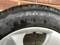 BMW 320d Alloy wheels and Pirelli tyres
