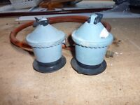 two calor gas regulators