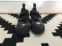 Size 5 evolv climbing shoes
