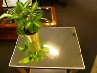 Remade table with mirror top - CHARITY