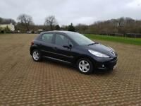 PEUGEOT 207 1.4 HDi Verve 5dr - Cheap to tax and insure (black) 2010