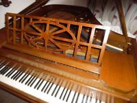 baby grand piano by j brinsmead 5ft long