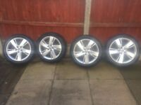 "2016 17""Vauxhall astra j wheels as new Tyres as new"