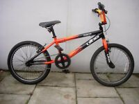 Kids BMX by Vibe, Black with Flames, 20 inch Wheels are for Kids 7+,JUST SERVICED/ CHEAP PRICE!!!!!!