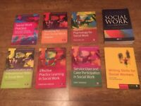 8 Social Work Books - University & Further study