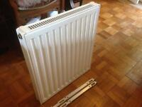Single small panel radiator