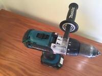 Makita 18v hammer drill, Bare unit no battery or charger