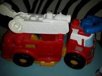 Large fire engine for Mega Bloks