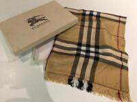 Burberry Scarf in Box