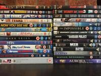 Bundle of assorted dvds