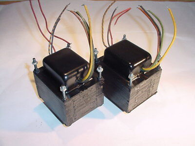 Stancor audio OUTPUT TRANSFORMER PAIR for DIY 7591 stereo tube amplifier project